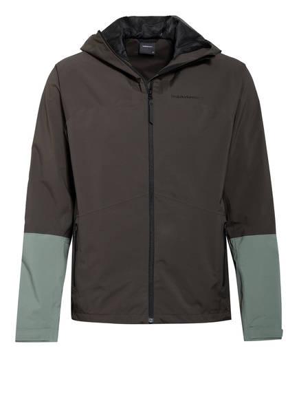 Peak Performance Outdoor-Jacke NIGHTBREAK, Farbe: DUNKELGRÜN/ HELLGRÜN (Bild 1)