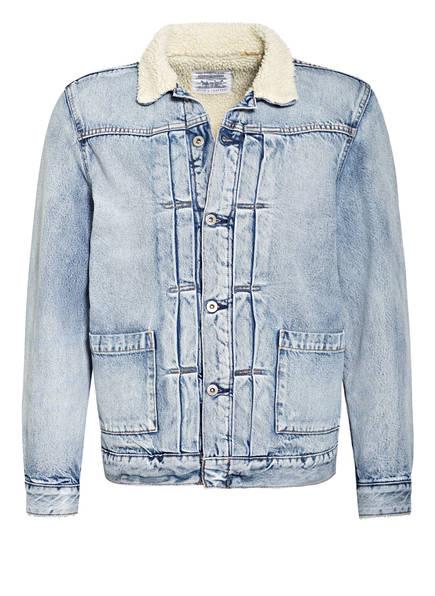 Levi's® Jeansjacke mit Kunstfellbesatz, Farbe: BLAU (Bild 1)