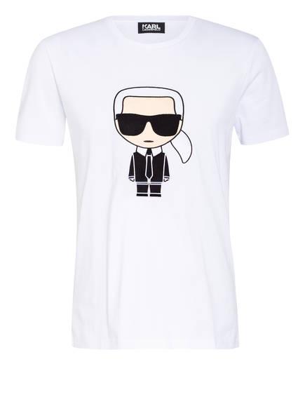 KARL LAGERFELD T-Shirt IKONIK, Farbe: WEISS (Bild 1)