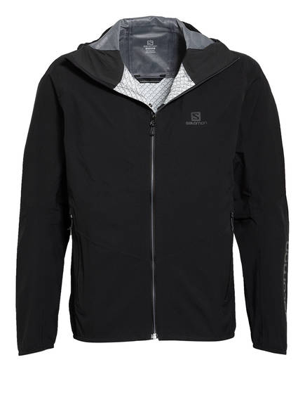 SALOMON Outdoor-Jacke OUTLINE, Farbe: SCHWARZ (Bild 1)