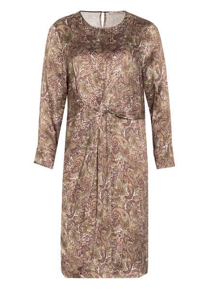 MOS MOSH Kleid SIENNA, Farbe: GRÜN/ BRAUN/ ECRU (Bild 1)
