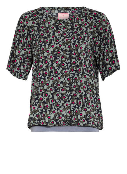 LIEBLINGSSTÜCK Blusenshirt REJANE , Farbe: GRÜN/ SCHWARZ/ PINK (Bild 1)