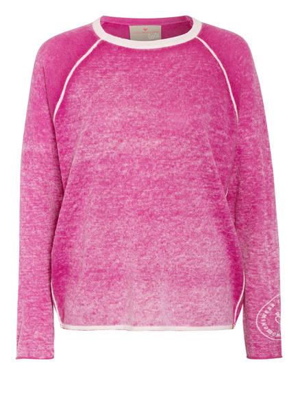 LIEBLINGSSTÜCK Pullover BETSY , Farbe: PINK/ WEISS MELIERT (Bild 1)