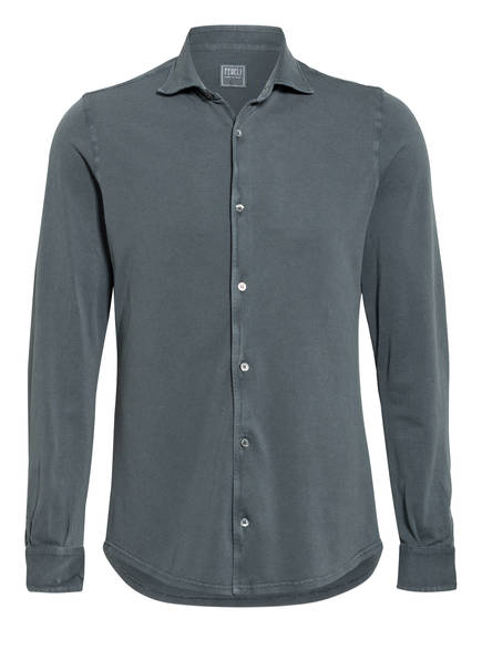 FEDELI Hemd STEVE Slim Fit, Farbe: GRAU (Bild 1)