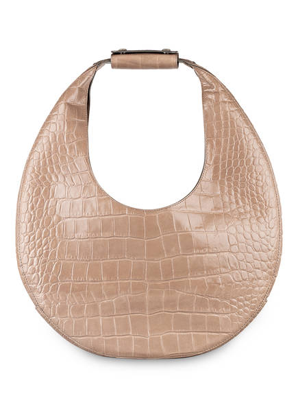 STAUD Handtasche MOON LARGE, Farbe: HELLGRAU (Bild 1)