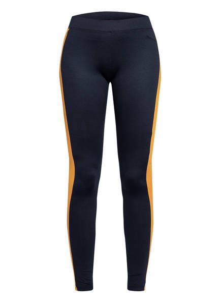 HUGO Leggings NAVOLI, Farbe: DUNKELBLAU/ HELLORANGE (Bild 1)