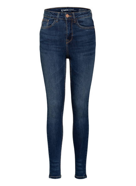 GARCIA Skinny Jeans SIENNA Superslim Fit, Farbe: 7470 MEDIUM USE BLUE (Bild 1)