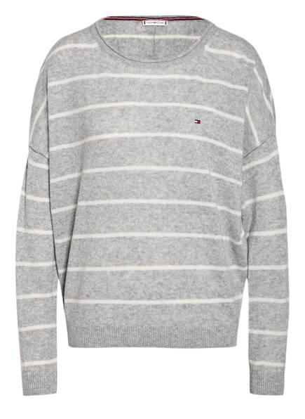 TOMMY HILFIGER Pullover, Farbe: GRAU/ WEISS (Bild 1)