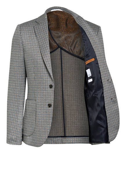 PAUL Kombi-Sakko Slim Fit  WEISS/ DUNKELBLAU/ HELLBRAUN - Herrenbekleidung Bestpreis