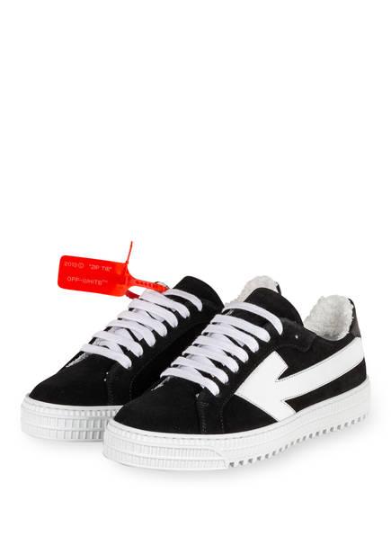 OFF-WHITE Plateau-Sneaker ARROW, Farbe: SCHWARZ/ WEISS (Bild 1)
