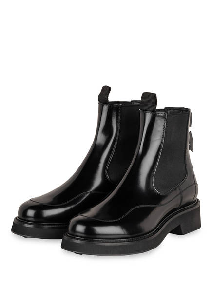 OFF-WHITE Chelsea-Boots, Farbe: SCHWARZ (Bild 1)