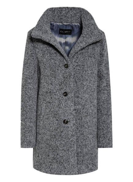 GIL BRET Mantel aus Alpaka, Farbe: GRAU MELIERT (Bild 1)