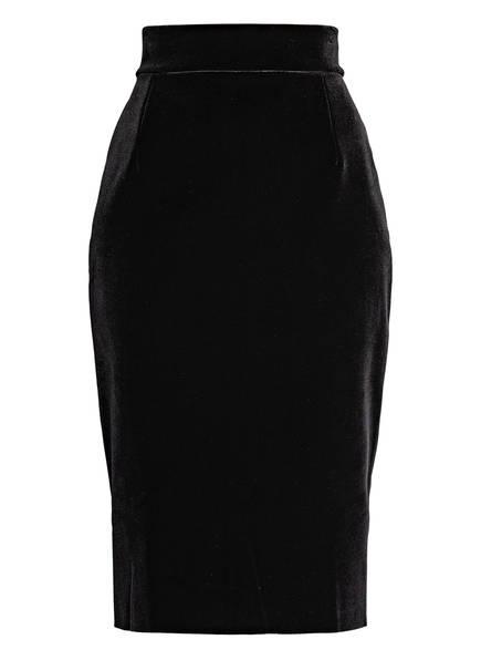 CHIARA BONI La Petite Robe Samtrock LUMI, Farbe: SCHWARZ (Bild 1)
