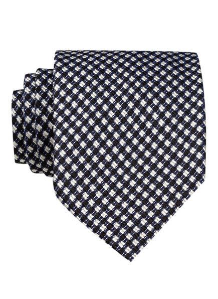 TOM FORD Krawatte, Farbe: SCHWARZ/ WEISS/ DUNKELBRAUN (Bild 1)
