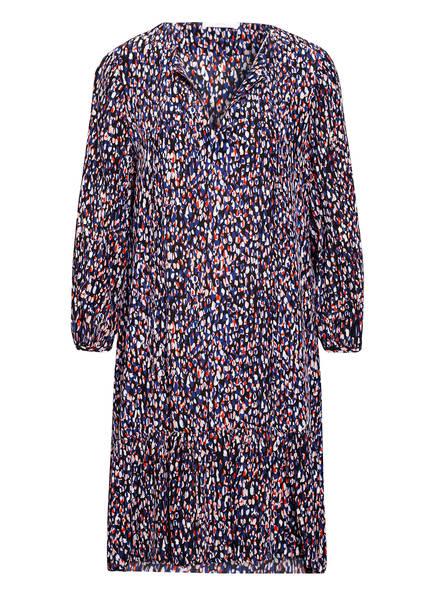BOSS Kleid DEMMEI mit Seide , Farbe: SCHWARZ/ BLAU/ ROT (Bild 1)