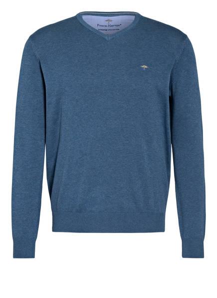 FYNCH-HATTON Pullover, Farbe: BLAU MELIERT (Bild 1)