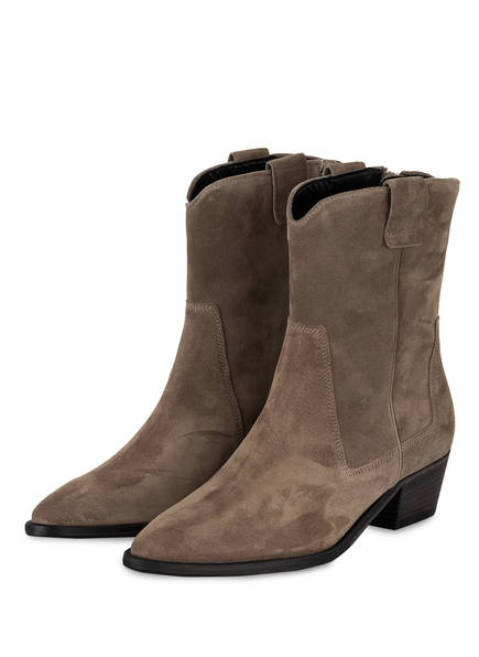 KENNEL & SCHMENGER Cowboy Boots EVE, Farbe: TAUPE (Bild 1)