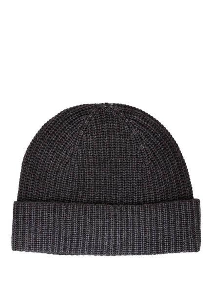 CHAS Mütze mit Cashmere, Farbe: DUNKELGRAU (Bild 1)