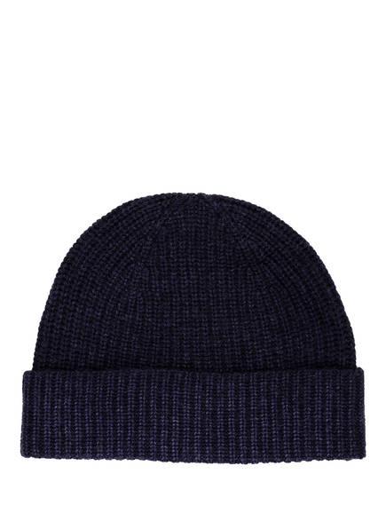 CHAS Mütze mit Cashmere, Farbe: DUNKELBLAU (Bild 1)