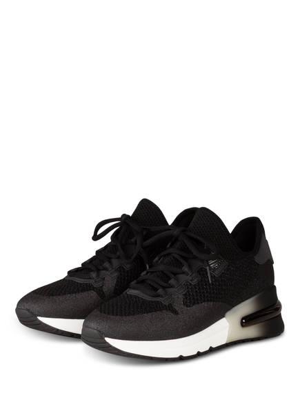 ash Plateau-Sneaker KRUSH GLITTER, Farbe: SCHWARZ (Bild 1)