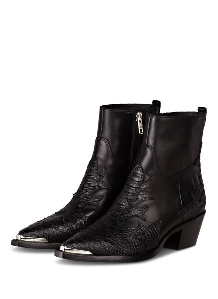 ash Cowboy Boots DJANGO , Farbe: SCHWARZ (Bild 1)