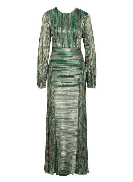 ROTATE BIRGER CHRISTENSEN Kleid LISA mit Glitzergarn, Farbe: Grün (Bild 1)
