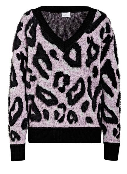 SPORTALM Pullover, Farbe: SCHWARZ/ ROSA (Bild 1)