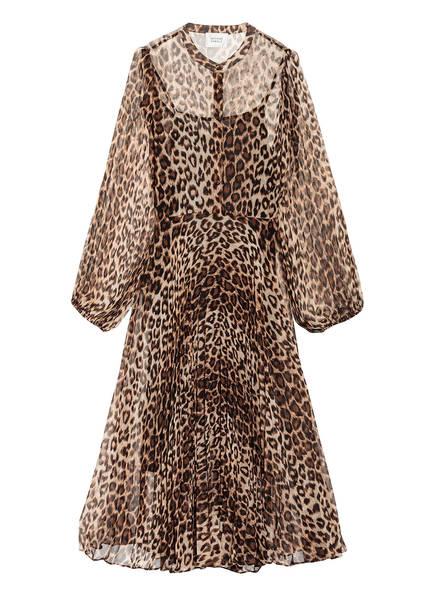 SECOND FEMALE Kleid CELLO, Farbe: BRAUN/ BEIGE/ SCHWARZ (Bild 1)