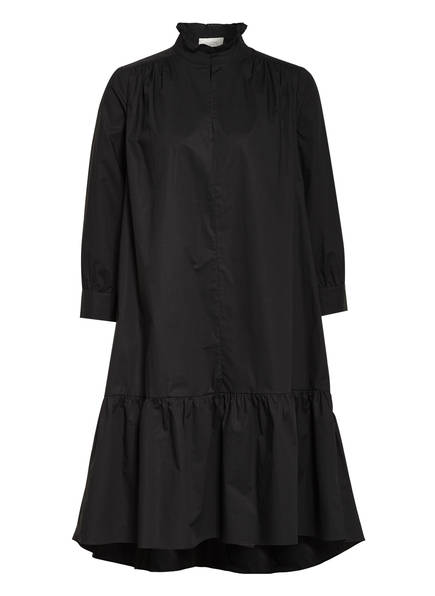 SECOND FEMALE Kleid ADDISON mit 3/4-Arm , Farbe: SCHWARZ (Bild 1)