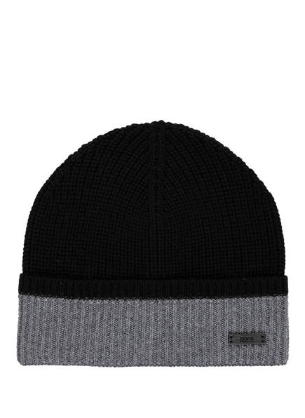 BOSS Mütze MARINELLO, Farbe: SCHWARZ/ GRAU (Bild 1)