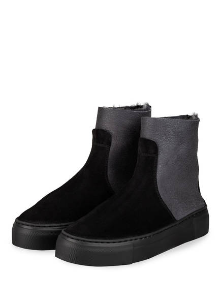 AGL Plateau-Boots, Farbe: DUNKELGRAU/ GRAU (Bild 1)