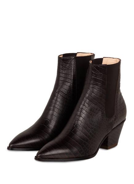 AGL ATTILIO GIUSTI LEOMBRUNI Cowboy Boots, Farbe: DUNKELBRAUN (Bild 1)