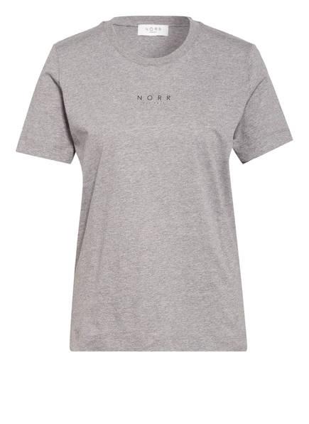 NORR T-Shirt, Farbe: HELLGRAU MELIERT (Bild 1)