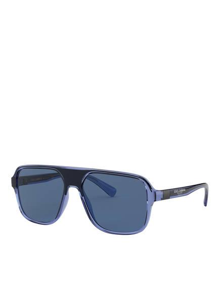 DOLCE&GABBANA Sonnenbrille DG 6134, Farbe: 325880 - BLAU/ BLAU (Bild 1)