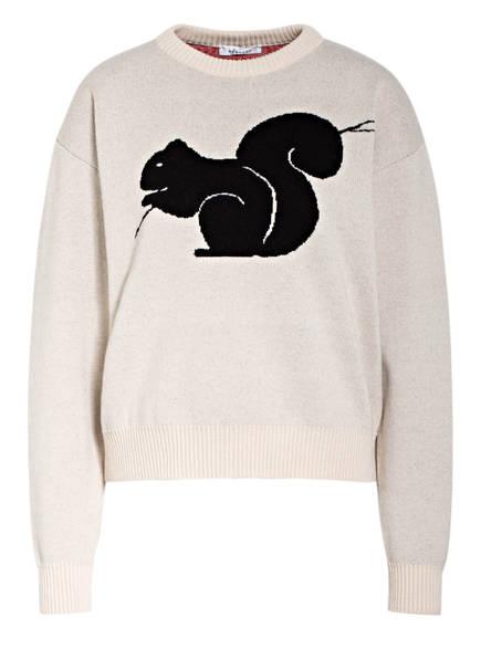 NERVURE Pullover, Farbe: CREME/ SCHWARZ (Bild 1)