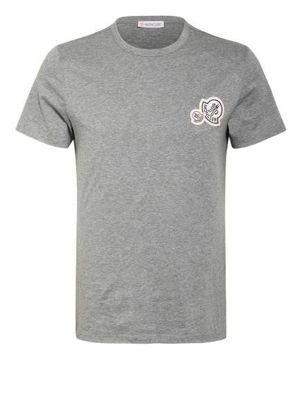 MONCLER T-Shirt , Farbe: GRAU MELIERT (Bild 1)