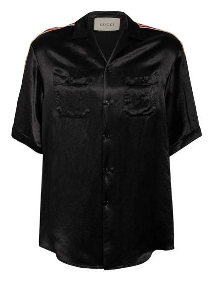 GUCCI Resorthemd BOWLING Comfort Fit, Farbe: SCHWARZ (Bild 1)