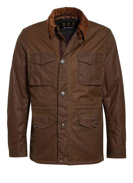 Barbour Fieldjacket TEDDON WAX, Farbe: BRAUN (Bild 1)