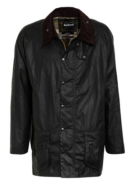 Barbour Fieldjacket BEAUFORT WAX, Farbe: DUNKELGRÜN (Bild 1)
