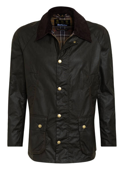 Barbour Fieldjacket ASHBY WAX, Farbe: DUNKELBRAUN (Bild 1)