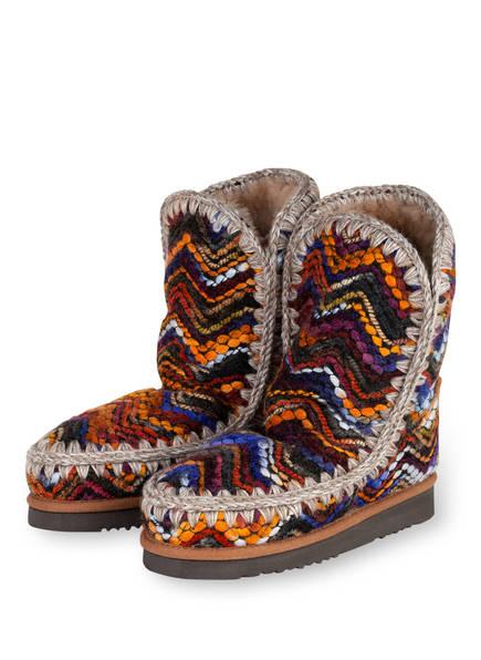 mou Boots ESKIMO, Farbe: BLAU/ ORANGE/ HELLGRAU (Bild 1)