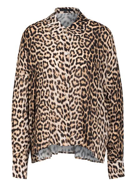 DRYKORN Oversized-Hemdbluse CLOELIA, Farbe: BEIGE/ BRAUN (Bild 1)