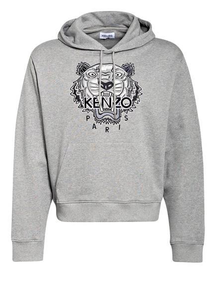 KENZO Hoodie TIGER, Farbe: GRAU MELIERT (Bild 1)