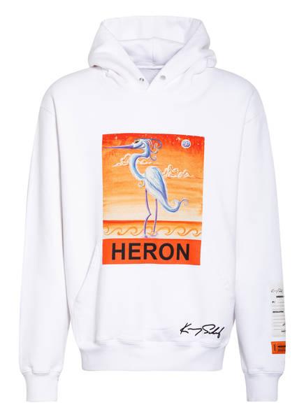 HERON PRESTON Hoodie, Farbe: WEISS (Bild 1)