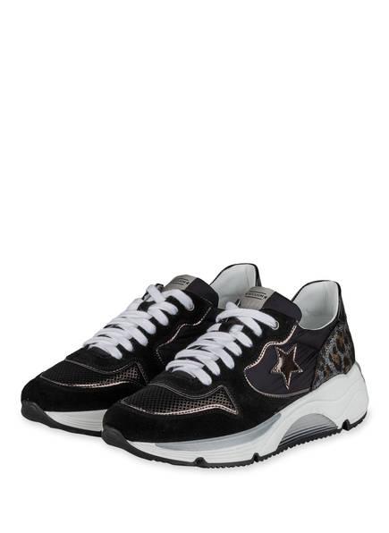 NO CLAIM Plateau-Sneaker LOGAN18, Farbe: SCHWARZ (Bild 1)