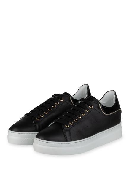 NO CLAIM Plateau-Sneaker FRIDA, Farbe: SCHWARZ (Bild 1)