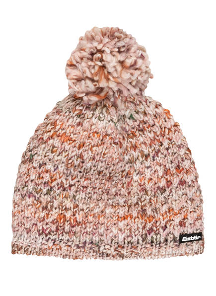 Eisbär Mütze BILLIE POMPON, Farbe: ROSE/ BRAUN (Bild 1)