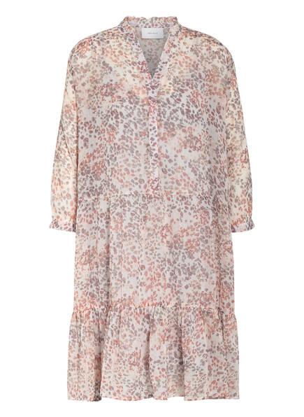 NEO NOIR Kleid FAMY mit 3/4-Arm , Farbe: WEISS/ ALTROSA/ GRAU (Bild 1)