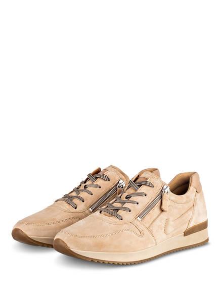 Gabor Sneaker, Farbe: BEIGE (Bild 1)