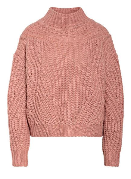 HEMISPHERE Cashmere-Pullover, Farbe: ROSÉ / WEISS MELIERT (Bild 1)